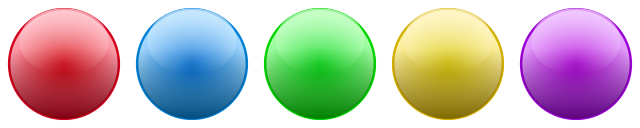 Image result for all colors balls png